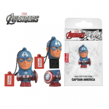 Captain America 16GB USB Flash Drive
