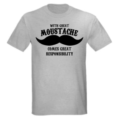 Great Moustache T-Shirt