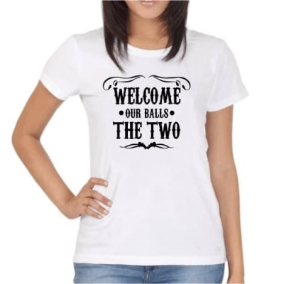 Welcome our Balls... The two