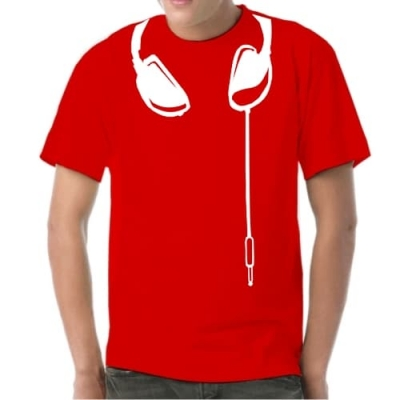 Headphones 2 Tee