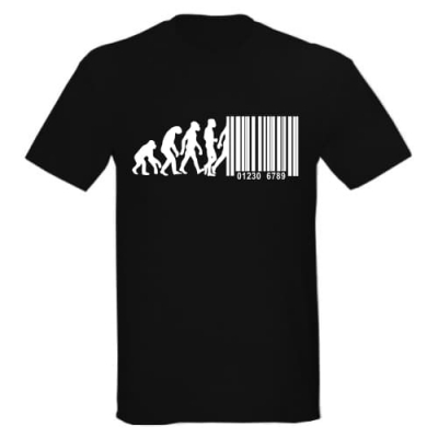 T-Shirt Barcode Evolution