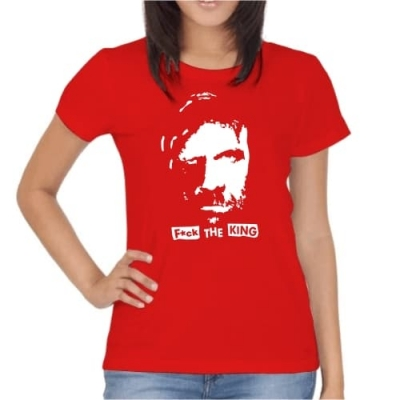 T-Shirt The Hound F*ck the king!