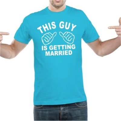 This guy is getting married!