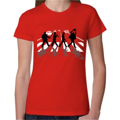 Γυναικείο T Shirt Abbey Road Killers