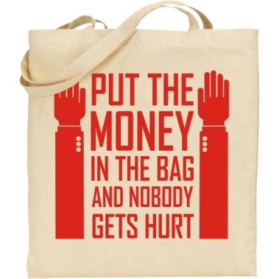 Τσάντα Put The Money in the Bag