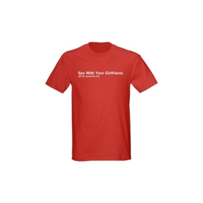 T-Shirt Sex with your Girlfriend