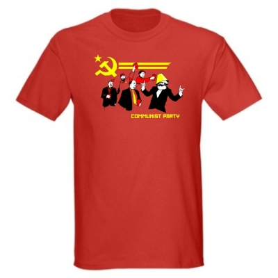 T-Shirt Communist Party