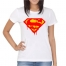 T-Shirt Melted Superman