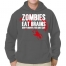 T-Shirt Zombies Eat Brains